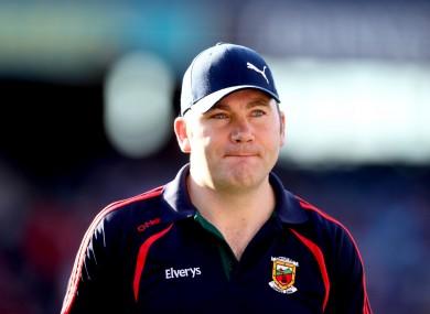 James Horan led Mayo to the All-Ireland Senior Football Final in September.