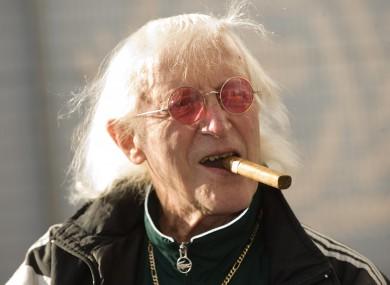 Sir Jimmy Savile in 2010.
