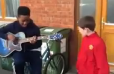 Rihanna's We Found Love… covered excellently by two kids from Kildare