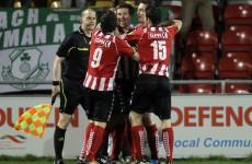 LOI report: Four-star Derry overcome Dundalk