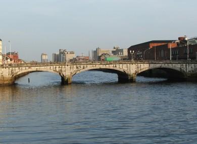 St Patrick's Bridge in Cork city (File)