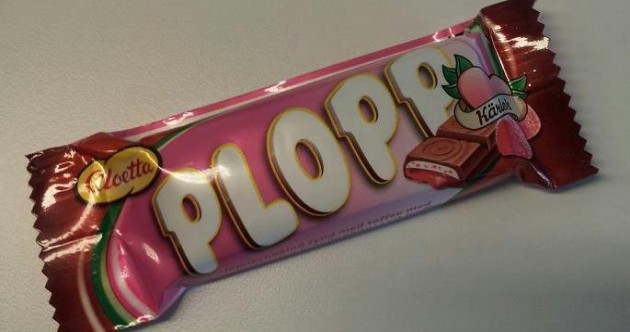 Worst name for a chocolate bar ever?