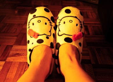 Lose the slippers... and the pyjamas.