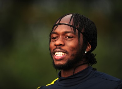 Gervinho is likely to start for Arsenal tonight.
