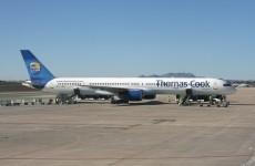 Emergency landing at Dublin Airport
