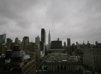 New York City: empty.