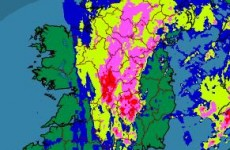 Flash flooding warning for early today