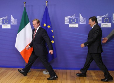 As European Commission president, Jose Manuel Barroso manages the budget while leaders like Enda Kenny determine how much that budget is.