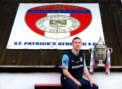 No touching: Conor Kenna and the FAI Cup.