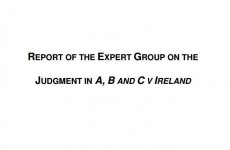 In full: The expert group on abortion's final report