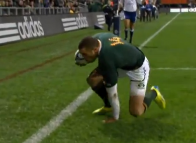 Habana becomes the second South African player to win the award.