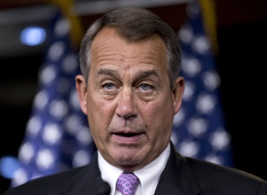 The Republicans' John Boehner will remain the Speaker of the House for at least the next two years.