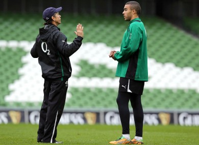 Les Kiss chats to Simon Zebo at the Captain's Run.