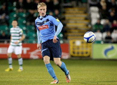 Paul O'Conor in action for UCD.