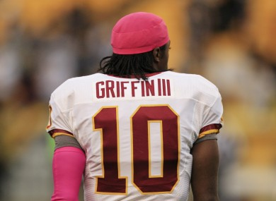 RG3, the world is watching.