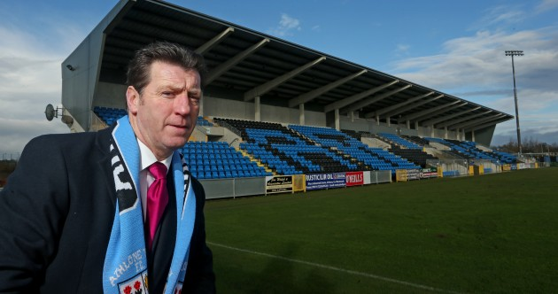 Snapshot: Roddy Collins arrives in Athlone, looks askance at camera