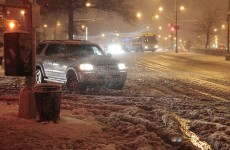 Snowstorm hits as US north-east recovers from Sandy