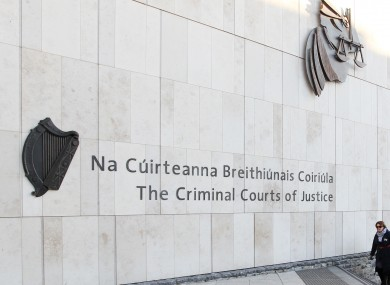 Criminal Courts of Justice in Dublin.