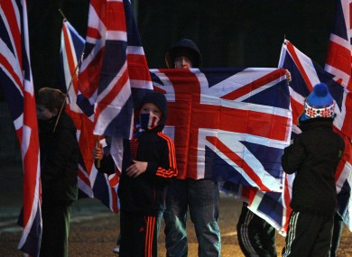 Loyalists block roads in north Belfast as the ongoing flag dispute continued last week.