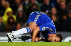 Chelsea unsure on Terry return date