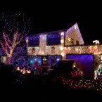 We love this house in Tallaght, the trees are so pretty. (Niall Carson/PA Wire)