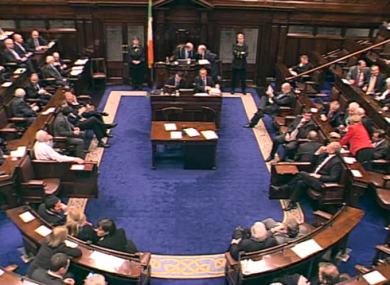 TDs had one of their latest nights of the year last night - staying until after 11pm to vote on appr