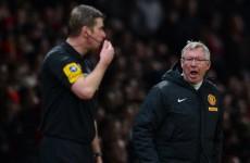 Shots fired: Alan Pardew calls for Alex Ferguson ban