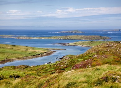 View of Clifden in Co Galway.