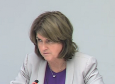 Social Protection minister Joan Burton said the request for €685 million in extra funding for 2012 could not be made any earlier.