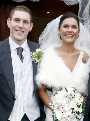 John and Michaela McAreavey on their wedding day.