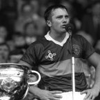 The world of Irish sport was rocked in December when news broke that legendary Kerry football Páidí Ó Sé had died aged 57. Image: INPHO/Billy Stickland