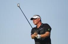 China's Zhang joint halfway leader of Australian PGA, Clarke on five-under