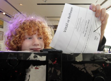 11-year-old Justin won't get to vote for a few years - but should 17-year-olds be given the right to vote in elections?