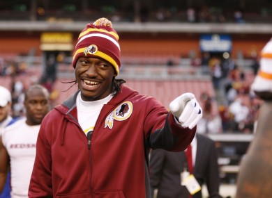 Washington Redskins quarterback Robert Griffin III was the subject of Parker's comments.