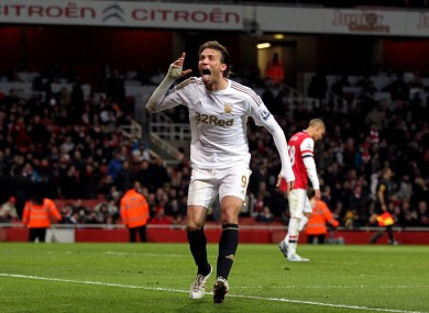 Miguel Michu has been one of Swansea's most influential players this season.