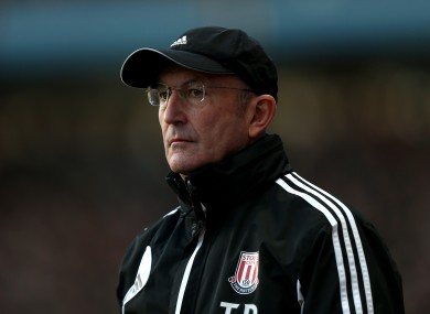 Tony Pulis believes his side are treated unfairly by officials because of their bad reputation.