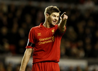 Steven Gerrard remains an integral part of the Liverpool side, according to Rodgers.