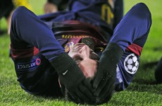 Lionel Messi in light training after injury scare