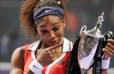 Hold on to your hats: Serena Williams named WTA player of the year