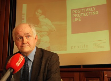 TCD professor William Binchy will be among the legal experts at today's hearing.