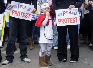 A 2011 PNA/INMO protest
