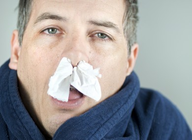 Wherever else you might keep your tissue, PLEASE don't keep it up your nose.
