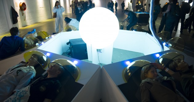 How London's 'Secret Cinema' smashes through the screen