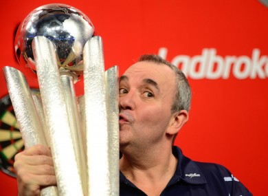 Taylor won the world darts title for the 16th time last night.