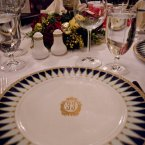 Even the tableware is emblazoned with the 33 moniker. (Pete Hottelet/Flickr)