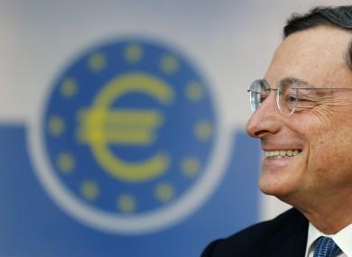 President of European Central Bank Mario Drag