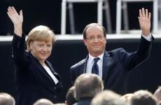 French, German leaders seek unity to fete 50 years' ties
