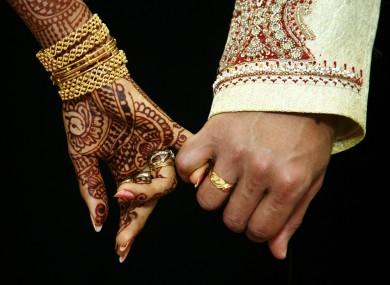 Image Indian Wedding Via Shutterstock