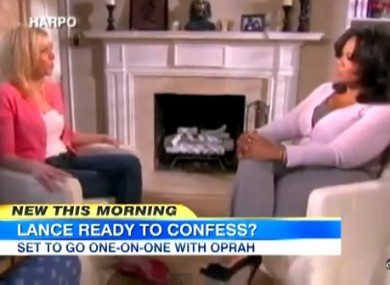 Oprah will travel to the former rider's home in Austin, Texas.