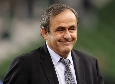 Platini has confirmed the tournament will move away from its traditional format.
